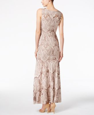 Calvin klein lace party dress
