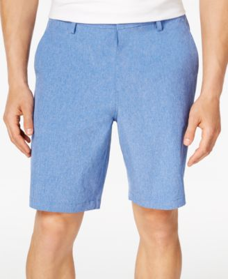 "Image of 32 Degrees Men's Stretch 9"" Heather Flat-Front Shorts"