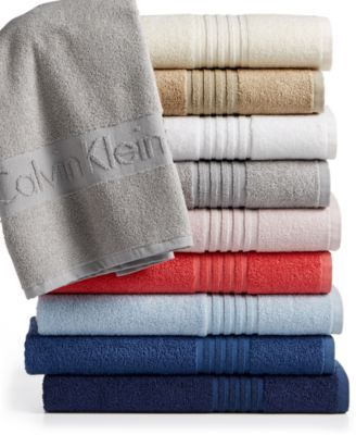 Calvin Klein Modern Cotton Iconic Hand Towel