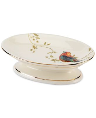 Bath Accessories, Gilded Birds Soap Dish