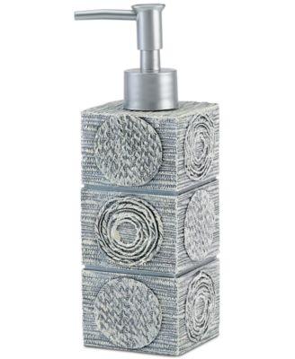 Bath Accessories, Galaxy Soap and Lotion Dispenser