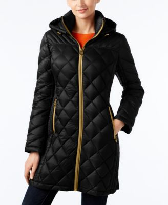 Michael Kors Diamond Quilted Down Jacket The Flash Board