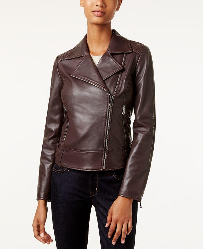 Marc New York - Leah Leather Moto Jacket