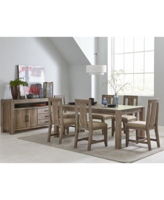 Canyon Dining Furniture Collection Furniture Macys - Macys dining room sets