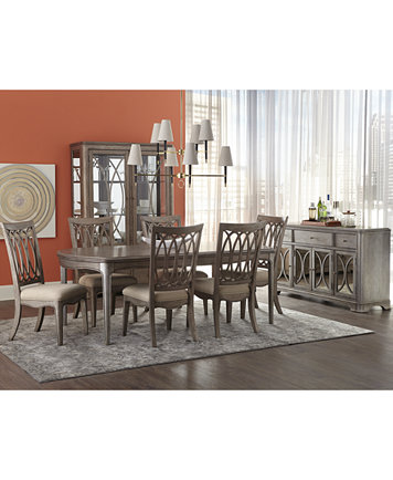 Kelly Ripa Home Hayley Dining Table - Furniture - Macy\'s