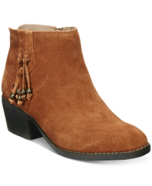 White Mountain Havana Tassel Booties Women's Shoes