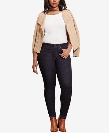 Lauren Ralph Lauren Plus Size Premier Stretch Skinny Jeans - Jeans ...