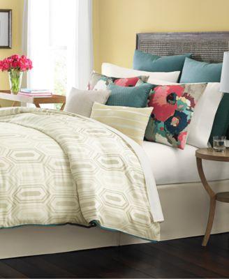 martha stewart collection ellington 10-pc. comforter sets, only at