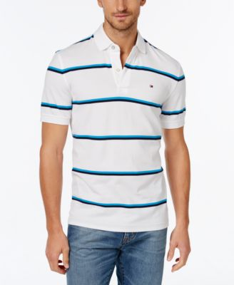 Image of Tommy Hilfiger Men's Andrew Stripe Polo