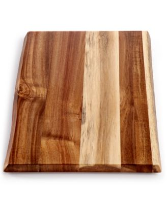 Martha Stewart Collection Natural-Edge Cutting Board, Only at Macy's