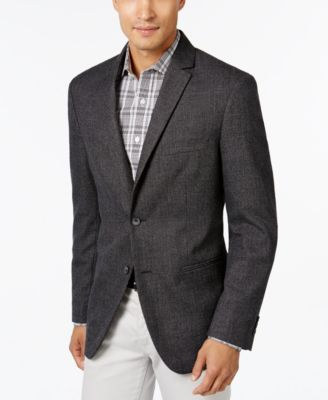Alfani Men's Slim-Fit Textured Geo Sport Coat, Slim Fit - Blazers ...