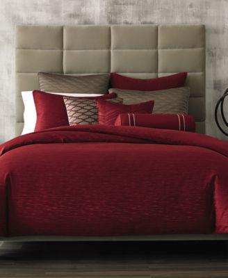 Bar Iii Diamond Pleat Full Queen Comforter Bedding