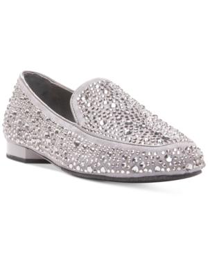 Donald J Pliner Helene Embellished Loafer Flats Women's Shoes