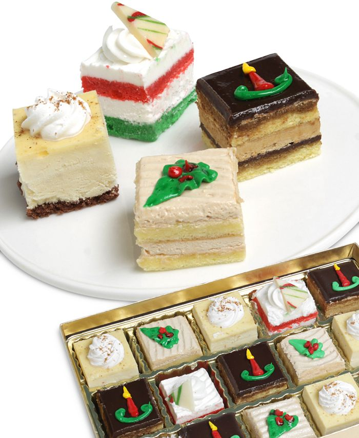 Chocolate Covered Company - Holiday Petit Fours Collection