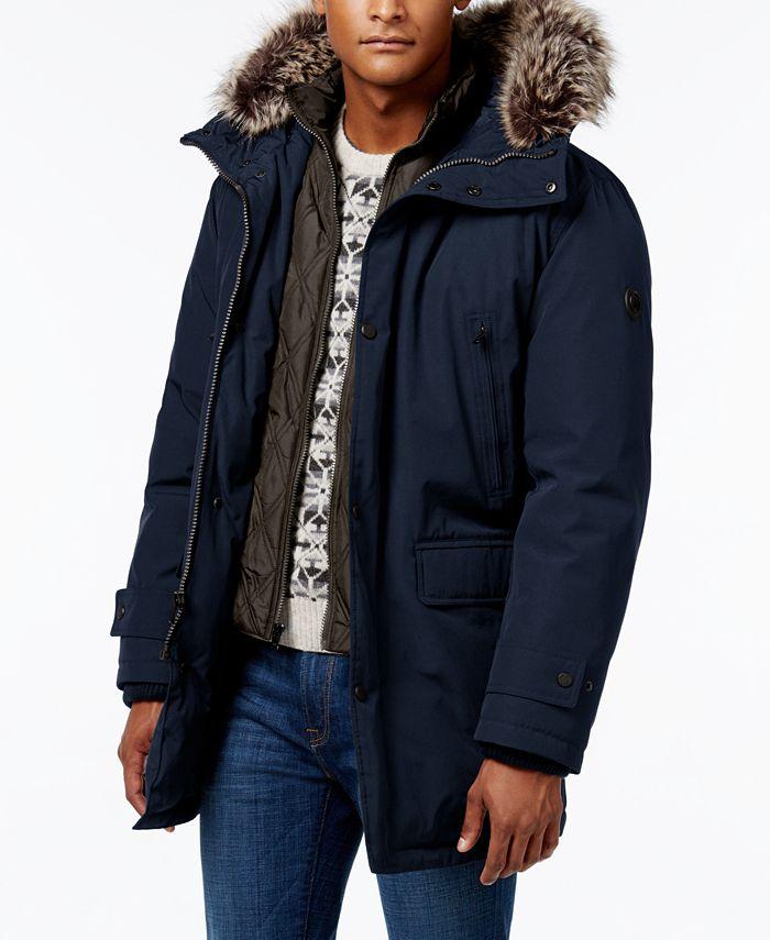 Michael Kors - Men's Hooded Bib Snorkel Coat