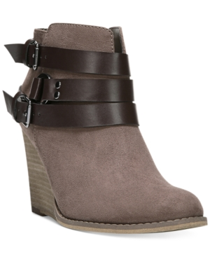 Carlos by Carlos Santana Cassedy Wedge Booties Women's Shoes