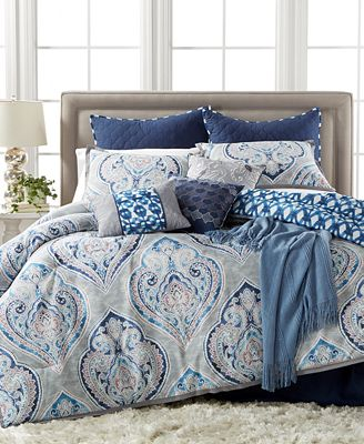 kelly ripa home weston 10-pc. reversible comforter sets, only at