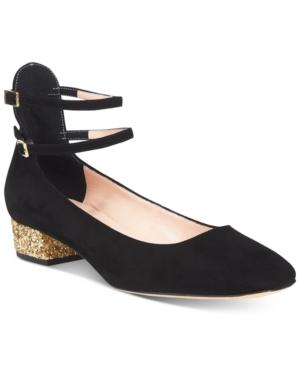 kate spade new york Marcellina Glitter Block-Heel Pumps Women's Shoes