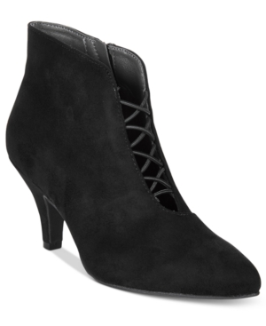 Rialto Maxine Pointed-Toe Booties Women's Shoes