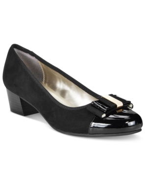 Karen Scott Darragh Block-Heel Pumps, Only at Macy's Women's Shoes