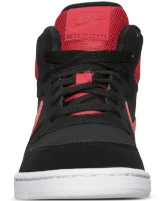 roshe run rouge et noir - Nike Little Boys' Court Borough Mid Premium Casual Sneakers from ...