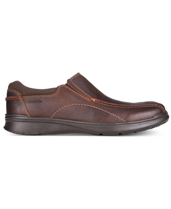 Clarks Men's Cotrell Step Bike Toe Slip On & Reviews - All Men's Shoes - Men - Macy's