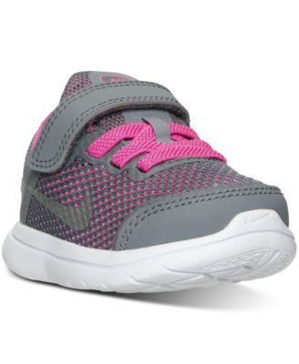 Nike Toddler Girls' Flex 2016 RN Velcro® Running Sneakers from Finish Line