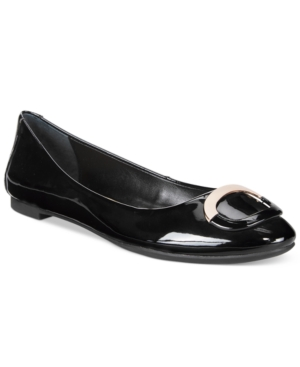 Alfani Gwennevah Buckle Flats, Only at Macy's Women's Shoes