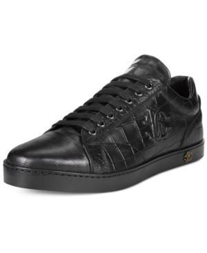 Roberto Cavalli Men's Oslo Cap-Top Sneakers Men's Shoes
