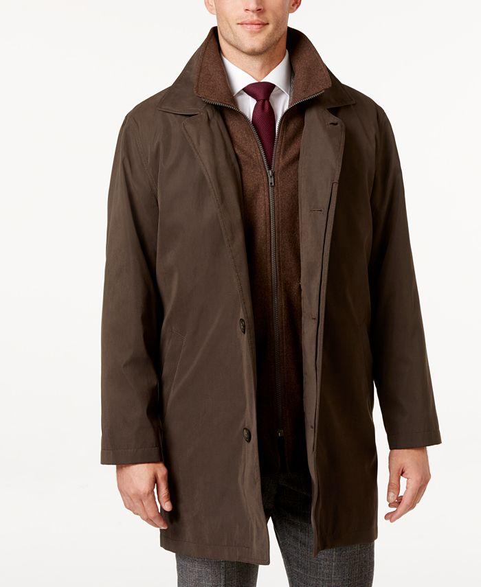 Lauren Ralph Lauren - Edgar Classic Fit Raincoat with Removable Lining