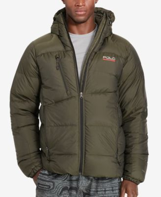 Polo Sport Men's Quilted Down Parka - Coats & Jackets - Men - Macy's : quilted down jacket mens - Adamdwight.com