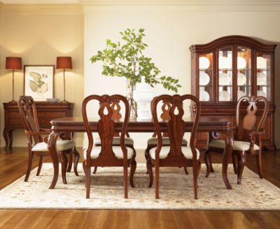 Bordeaux Louis Philippe Style 7 Piece Dining Room