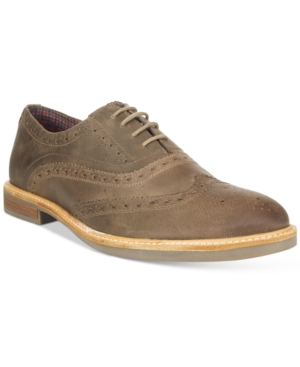 Ben Sherman Men's Birk Distressed Oxfords Men's Shoes