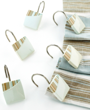 "Avanti ""By the Sea"" Shower Curtain Hooks"