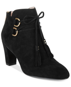 Tr Taryn Rose Trisha Lace-Up Ankle Booties Women's Shoes