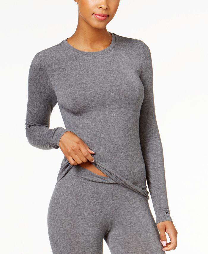 Cuddl Duds - Softwear Stretch Long Sleeve Crew Shirt
