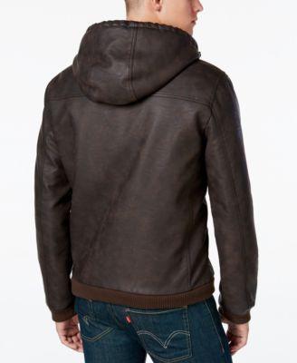 Hooded Bomber Jacket Men qLqo1W
