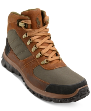 Polo Ralph Lauren Men's Herrik Hiker Boots Men's Shoes