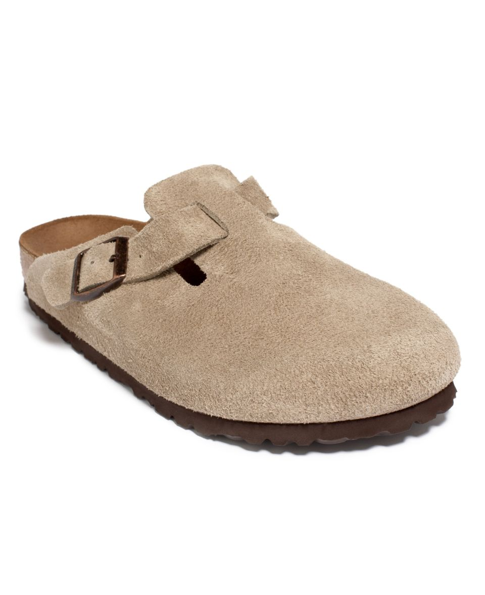 Birkenstock Shoes, Mens Boston Soft Footbed Clogs   Mens Shoes