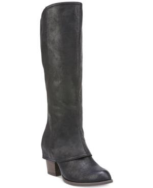 Fergalicious Lundry Cuffed Tall Boots Women's Shoes