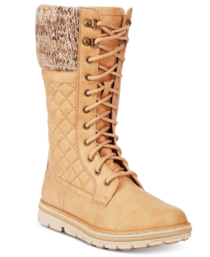 Cliffs by White Mountain Karline Quilted Cold-Weather Boots Women's Shoes