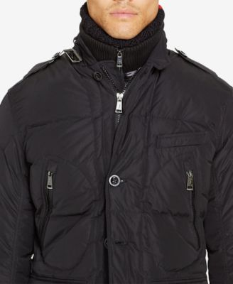 Ralph lauren quilted down coat men's