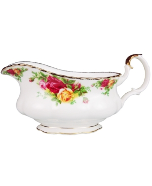 "Royal Albert ""Old Country Roses"" Gravy Boat, 19 oz"