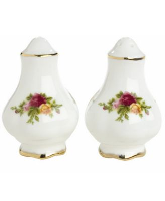 Royal Albert Old Country Roses Salt and Pepper