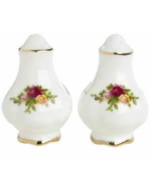 "Royal Albert ""Old Country Roses"" Salt and Pepper"