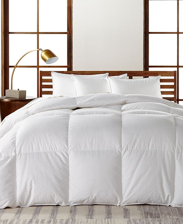 Hotel Collection European White Goose Down Heavyweight Full/Queen Comforter, Hypoallergenic UltraClean Down, Created for Macy's