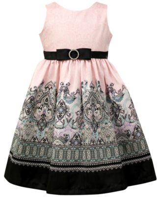 Jayne Copeland Velvet Holiday Dress Toddler &amp Little Girls (2T-6X ...