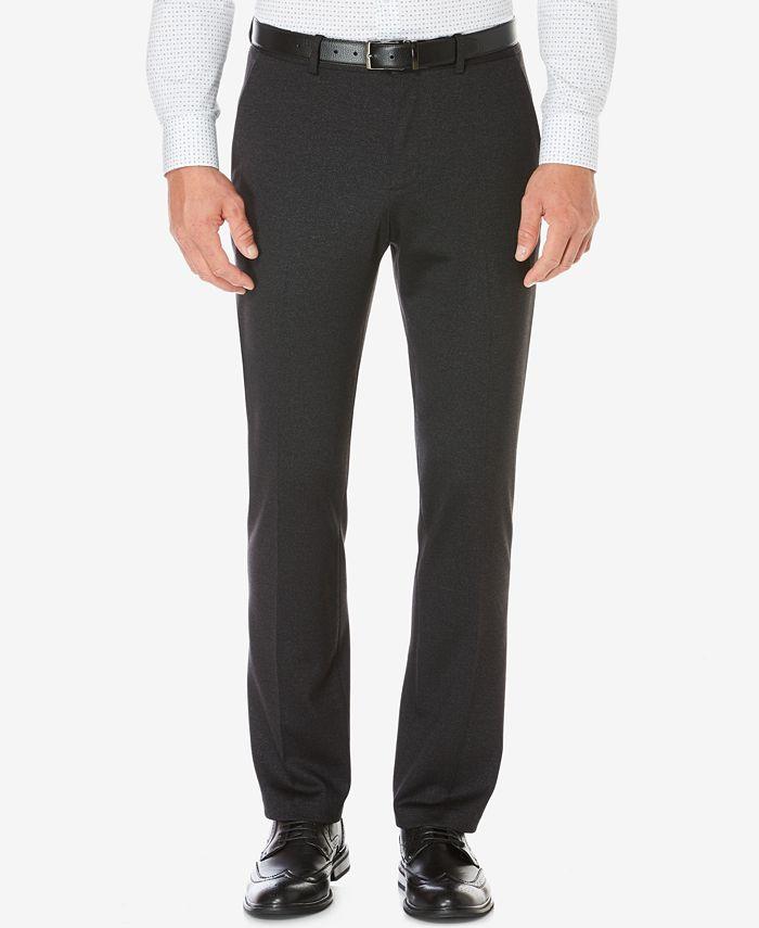 Perry Ellis - Men's Slim-Fit Heathered Pants