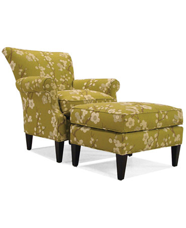 Maya Pear Living Room Accent Chair Furniture Macy 39 S