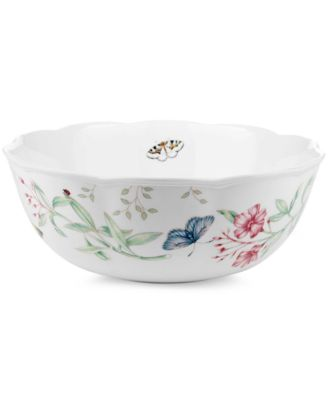 Lenox Dinnerware, Butterfly Meadow Open Vegetable Bowl